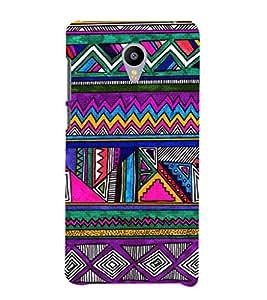 EPICCASE tribe celebration Mobile Back Case Cover For Meizu m2 Note (Designer Case)