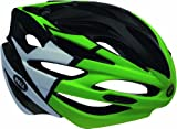 Bell Array Helmet - Black/White/Green Velocity, Large