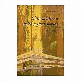 età moderna nella critica storica (Italian) Paperback – January 1