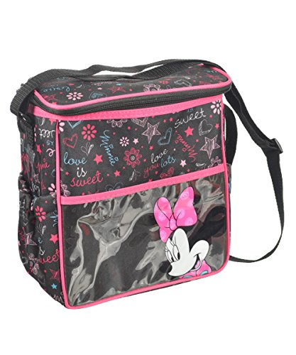 Disney Disney Minnie Mouse Insulated Diaper Bag - Black