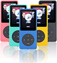 Lonve 8GB Big and Clear Lossless Sound Music MP3 MP4 Player With Expandable MicroSD Slot-Blue