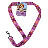 Disney Sofia the First Fabric Lanyard 18 Inch Purple