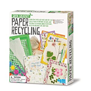 Make your own recycled paper kit