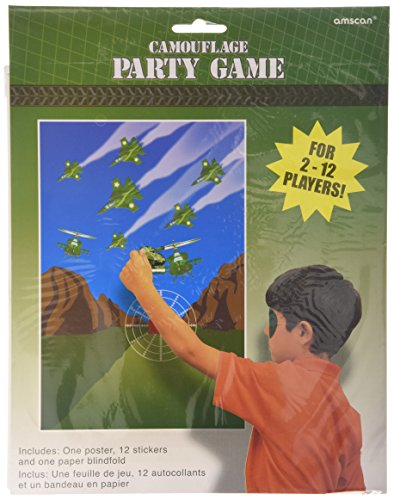 Military Camouflage Party Game Poster (15pc) - 1