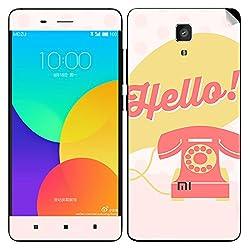 Theskinmantra Hello..!! Xiaomi Mi4 mobile skin