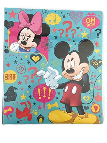 Disney Mickey Mouse 3 Ring Binder