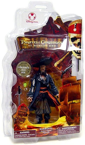 Picture of Disney Pirates of the Caribbean At World's End Disney Exclusive Action Figure Barbossa (B000QU8LX2) (Disney Action Figures)