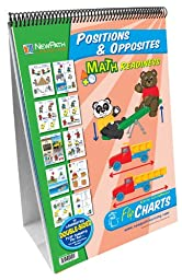 NewPath Learning Positions/Opposites Curriculum Mastery Flip Chart Set, Early Childhood