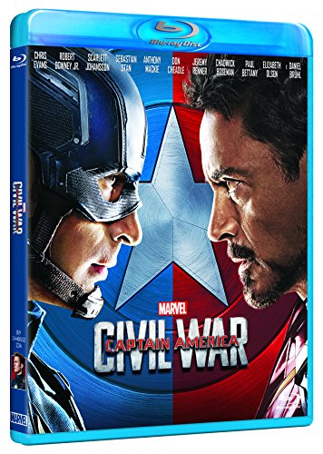 captain america - civil war (blu-ray) BluRay Italian Import