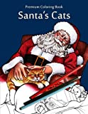 img - for Santa's Cats: Christmas Adult Coloring Book book / textbook / text book