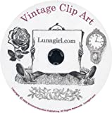 Vintage Clip Art CD: Over 1750 JPG Images