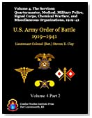 The Services: Quartermaster, Medical, Military Police, Signal Corps, Chemical Warfare, and Miscellaneous Organizations, 1919-41 (US Army Order of Battle 1919-1941)