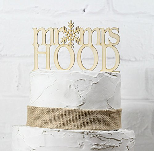 rustic-wedding-cake-topper-mr-and-mrs-topper-custom-personalized-with-your-last-name-paintable-stain