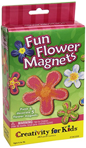 Creativity For Kids Fun Flower Magnets