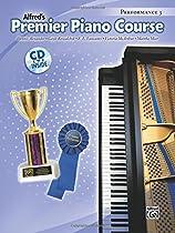 Premier Piano Course Performance, Bk 3: Book & CD