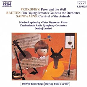 Peter and the Wolf, Op. 67: Peter in the