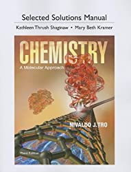 Selected Solutions Manual for Chemistry: A Molecular Approach by Pearson Education Walker
