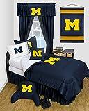 University of Michigan Wolverines Dorm Bedding Comforter Set