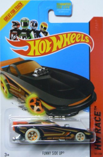 Hot Wheels 2014 Hw Race Nightstorm Funny Side Up 181/250