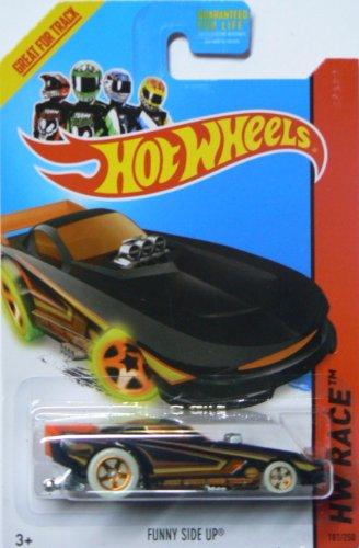Hot Wheels 2014 Hw Race Nightstorm Funny Side Up 181/250