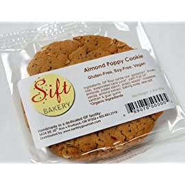 Sift Bakery Gluten Free Vegan Cookie - Almond Poppy (6 Pack)