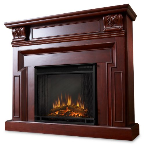 The Timothy Ventless Electric Indoor Fireplace - Mahogany picture B007QQJFH0.jpg