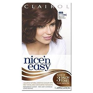 Nice'n Easy Permanent Hair Colour - No. 4RB Natural Dark Reddish Brown (Former shade 120C)