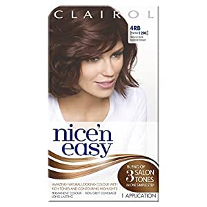 Nice'n Easy Permanent Hair Colour - Natural Dark Reddish Brown (No. 4RB, Former Shade No. 120C)