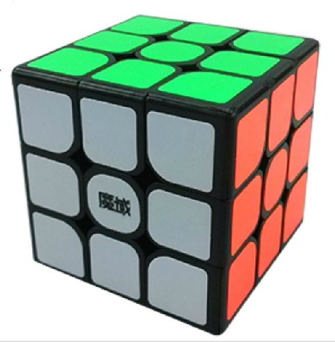 GoodPlay Yj Moyu Dianma 3X3X3 Speed Cube Puzzle Smooth Black - 1