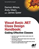img - for Visual Basic .NET Class Design Handbook: Coding Effective Classes book / textbook / text book