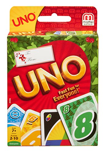 Mattel Holiday UNO Card Game - 1