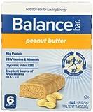 Balance Bar Peanut Butter Bar, 6 count Value Pack