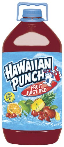Hawaiian Punch Fruit Juicy Red, 128-Ounce Bottles (Pack of 4)