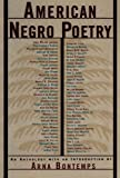 American Negro Poetry: An Anthology (American Century)