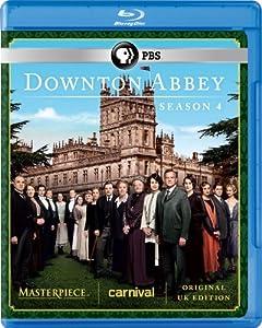 Masterpiece: Downton Abbey Season 4 Blu-ray (U.K. Edition) by PBS (DIRECT)