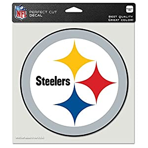 Pittsburgh Steelers Auto Car Bumper Decal Sticker 7 X 7