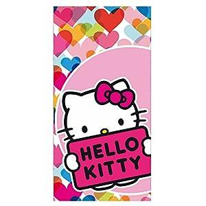 Toalla Hello Kitty 75x150cm surtido marca Sanrio