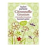 Sachet parfum� Citronnelle-G�ranium