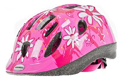 Raleigh 2012 Helmet Girls Pink Flower Bike Helmet 52 - 56cm by Raleigh