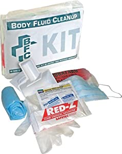 North by Honeywell 552001 Body Fluid Clean Up Kit - Poly Bag