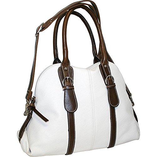 punto-uno-dolly-dome-satchel-white