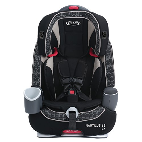 Graco Nautilus 65 LX 3-in-1 Harness Booster, Pierce