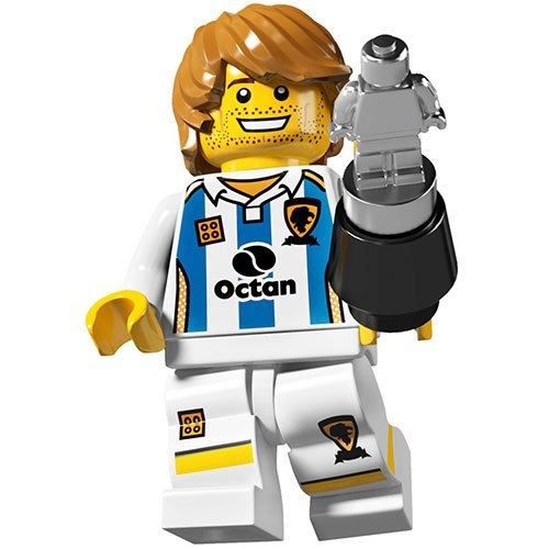 LEGO Series 4 Collectible Minifigure Soccer Player - 1