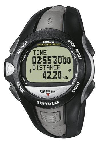 Casio GPR-100E-1VER - Reloj digital de cuarzo para mujer con correa de acero inoxidable, color plateado