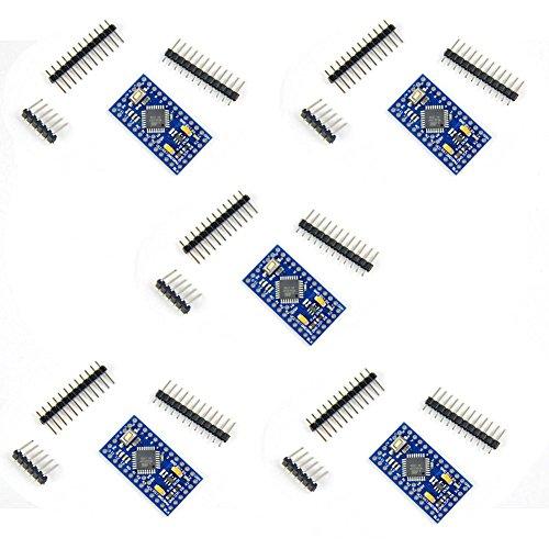 Diymall-Pro-Mini-33v-8mhz-Atmega328p-Atmega328Module-Compatible-with-Arduino-Esp8266-Pack-of-5PCS