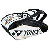 【4月下旬発売予約】ヨネックス ラケットバッグ9(リュック付)テニス9本用 BAG1602N ホワイト(011)