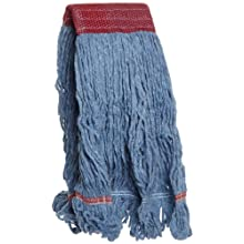 Boardwalk LM30311L Blue Wide Band Large Blended Loopend Mop  (Case of 12)