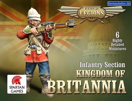Kingdom of Britannia Legions: Line Infantry Section - 1