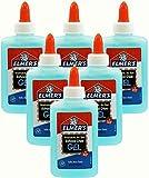 Elmers Washable No Run Gel School Glue (Pack of 6)