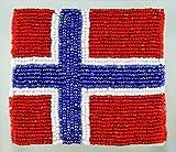 ビーズコースター ノルウェー 10枚セット